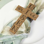 Rustic Easter Decorations With Diy Christ Centered Easter Napkin Rings Leap Of Faith Crafting