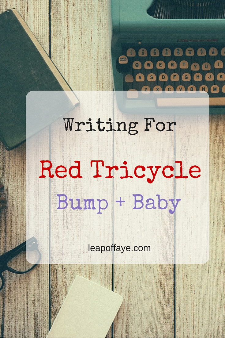 Writing For Red Tricycle