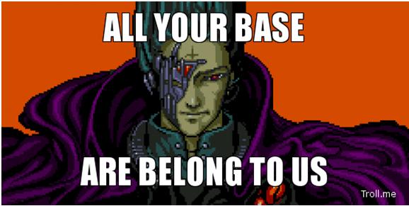 Tpu All Your Base Are Belong To Us Black Gamer Meme Geek Japanese