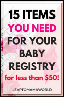 Bby Registry less than 50.00