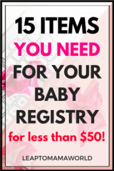 Bby Registry less than 50.00