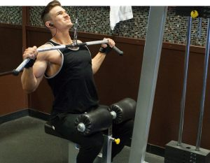 lat pull down wide-grip