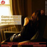 Como evitar o esgotamento energético