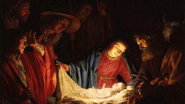 natal festa cena do nascimento jesus