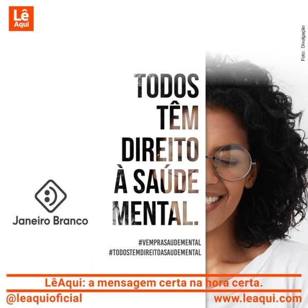 Imagem da Campanha Janeiro Branco.