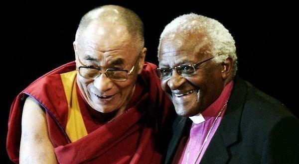 Foto de Desmond Tutu Dalai Lama sorrindo