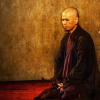 Thich Nhat Hanh numa conversa sobre felicidade