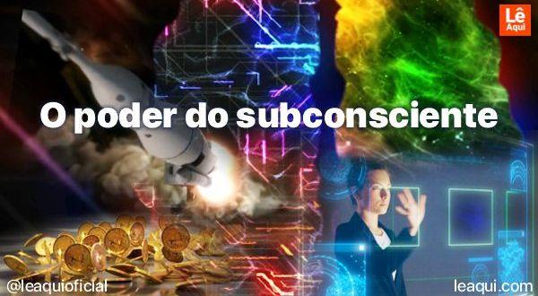 colagem de imagens presentes no vídeo poder subconsciente