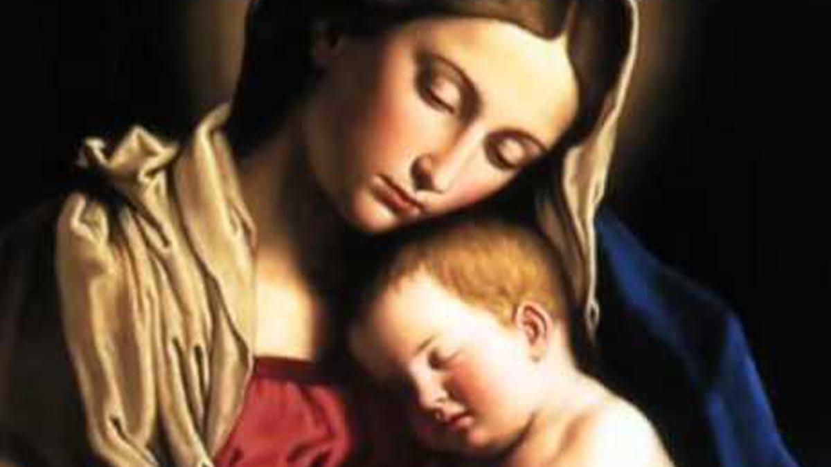 Duas orações à Mãe Santíssima