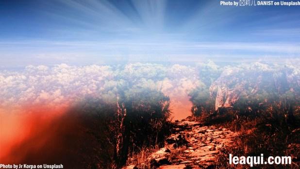 o céu e o inferno