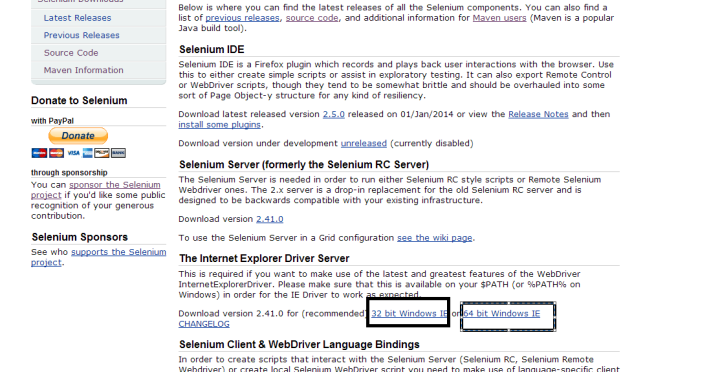 How to run selenium webdriver test in IE browser