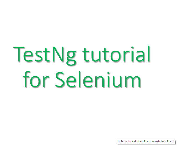 Testng with selenium webdriver tutorial 16 youtube.