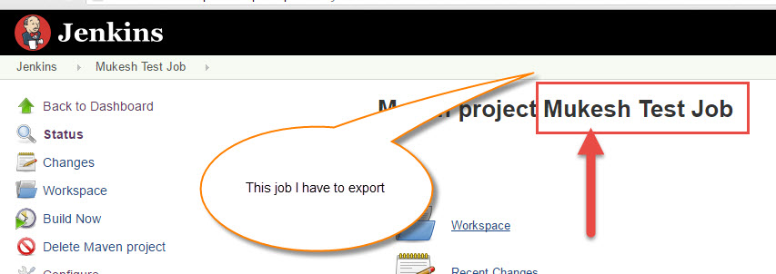 easy step import and export jobs in jenkins using cli interface