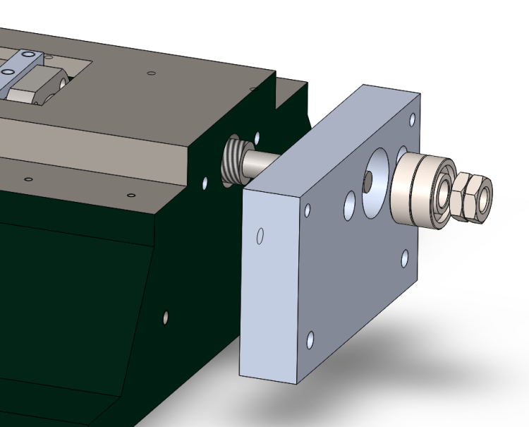 Exploded View of Y Axis