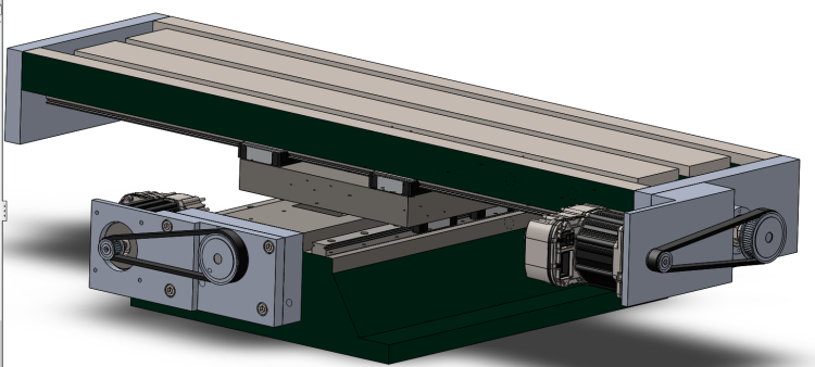 Motor Assembly for X Axis