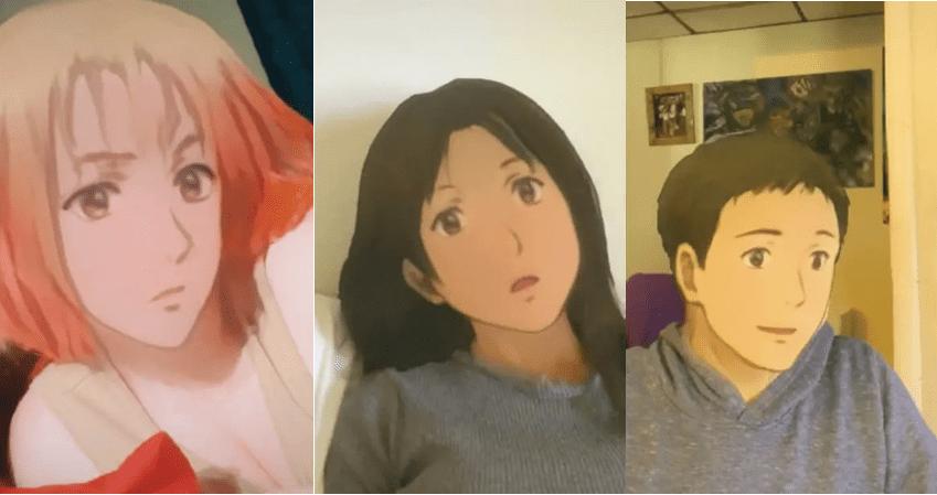 Image of Anime Filter TikTok