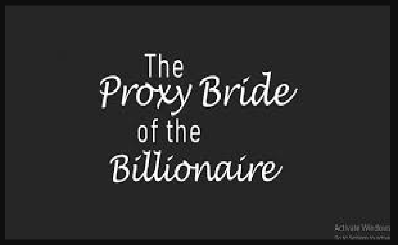Proxy Bride of the Billionaire