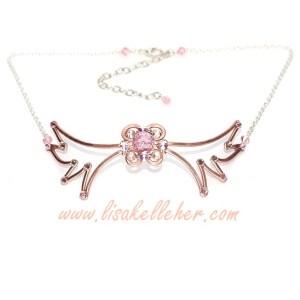 Angel Wing Circlet Rose Gold Blush Mood Board