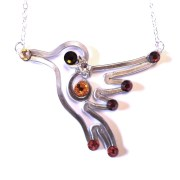 hummingbird-necklace-silver-earth-tones