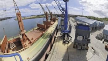 Unloading onto bulk trucks