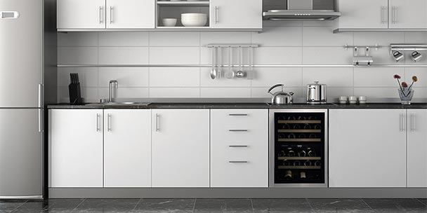 Ideas For Installing A Built In Wine Cooler In Your Kitchen