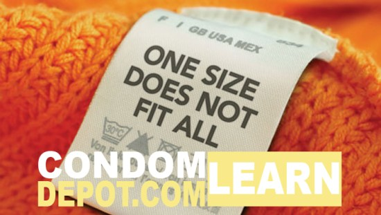one size condom does not fit all