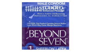 Condom Review: Beyond Seven Studded
