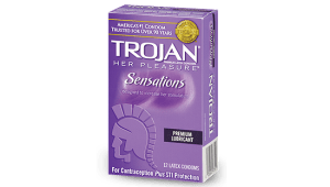 Condom Review: Trojan Her Pleasure Sensations