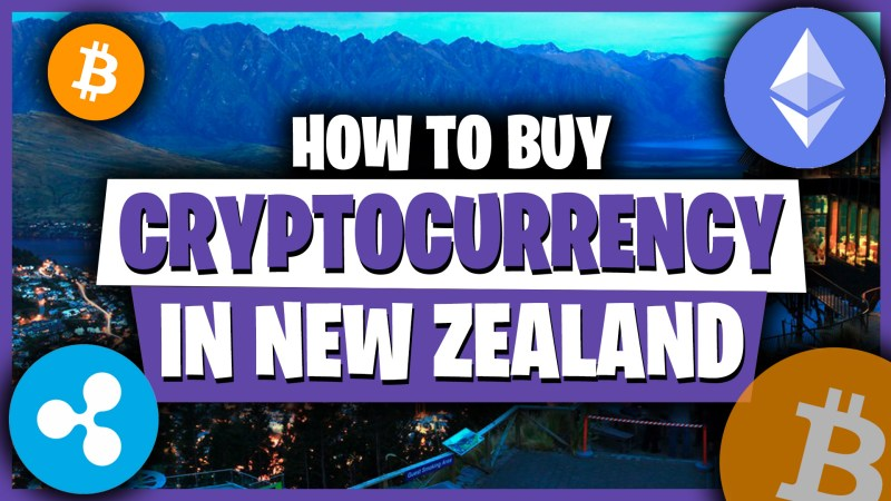 How to buy Cryptocurrency in New Zealand thumbnail