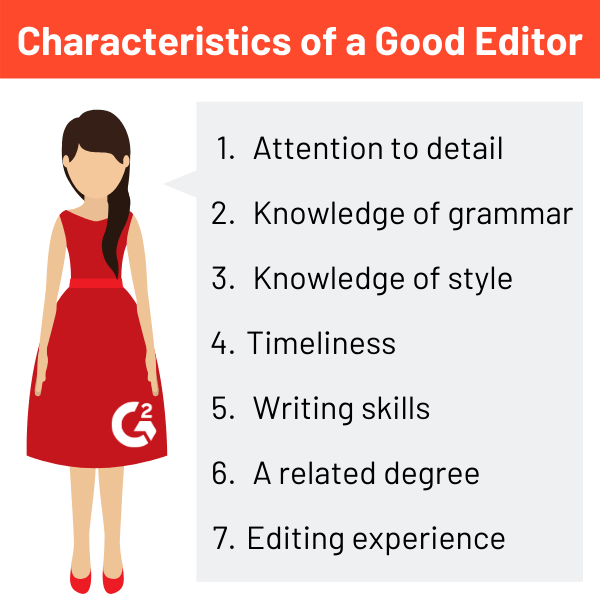characteristics of a good editor