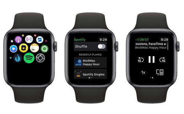 Spotify for Apple Watch app