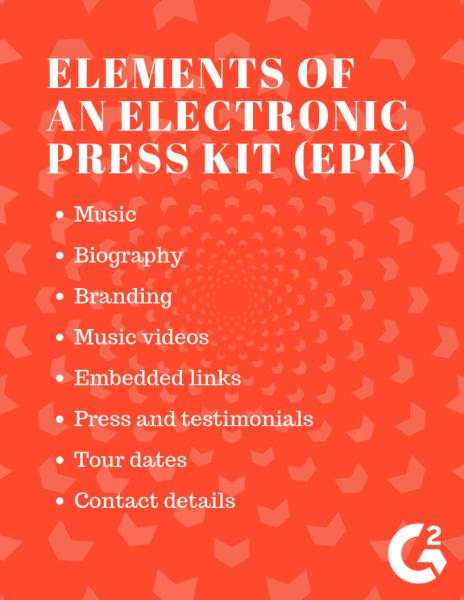 Elements of an EPK