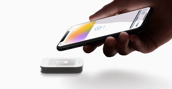 apple credit card used with apple pay and wallet app
