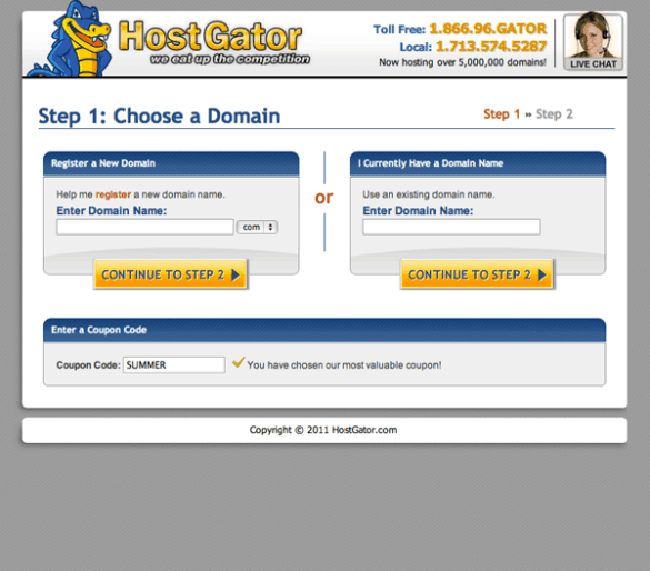 How to get started using HostGator