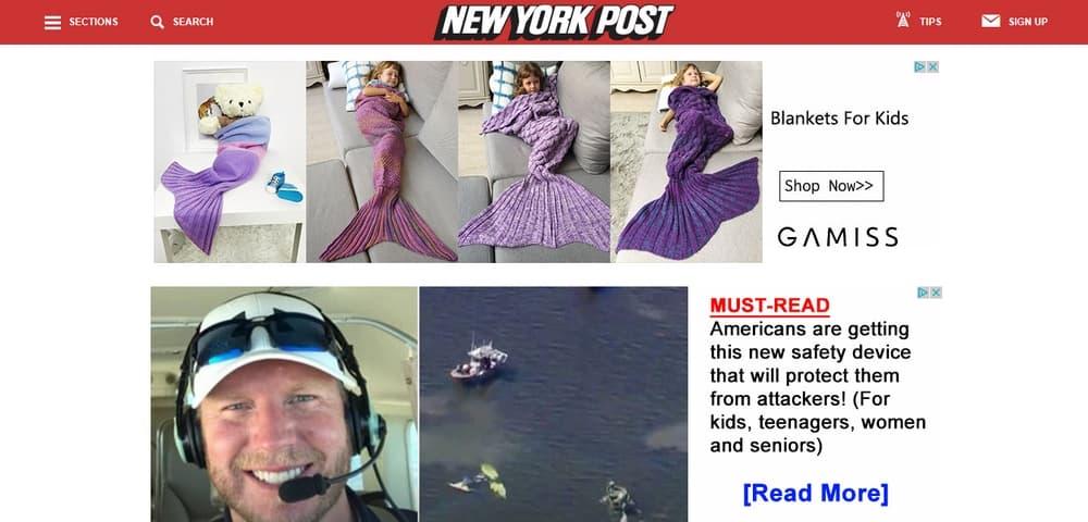 New York Post uses WordPress
