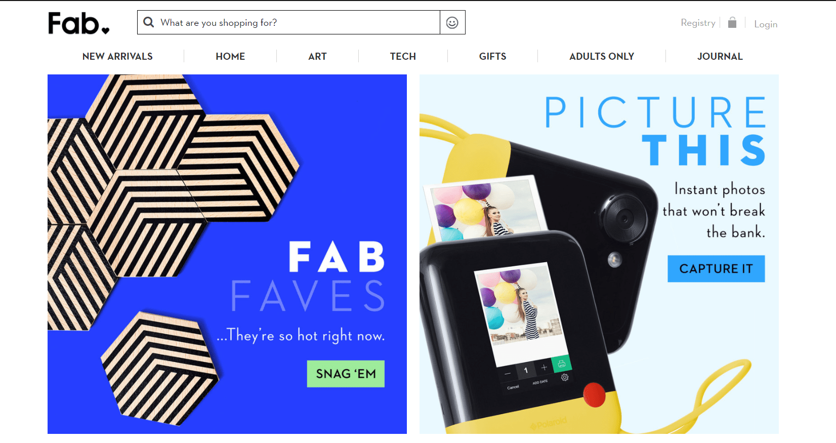 Fab.com was developed using Ruby on Rails