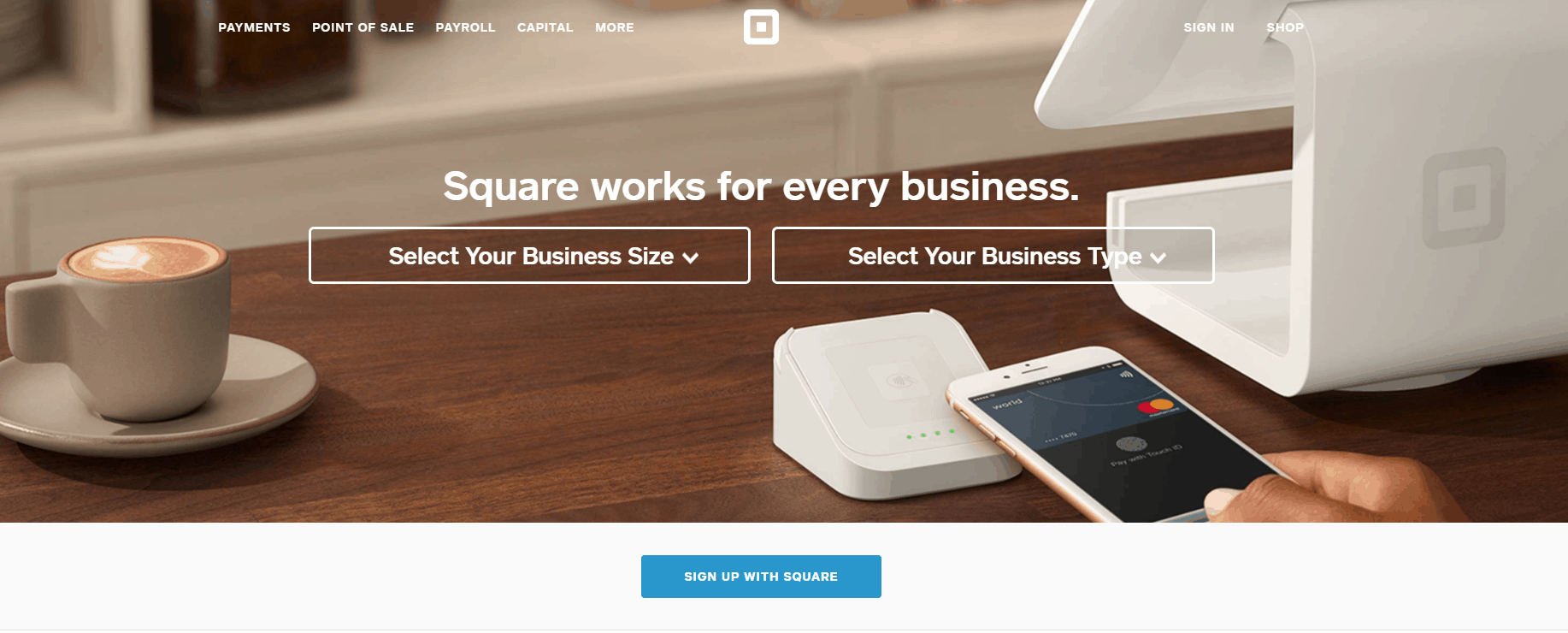 Square is built with Ruby on Rails