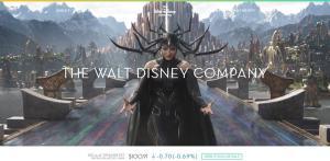 Example site made with WordPress | Disney