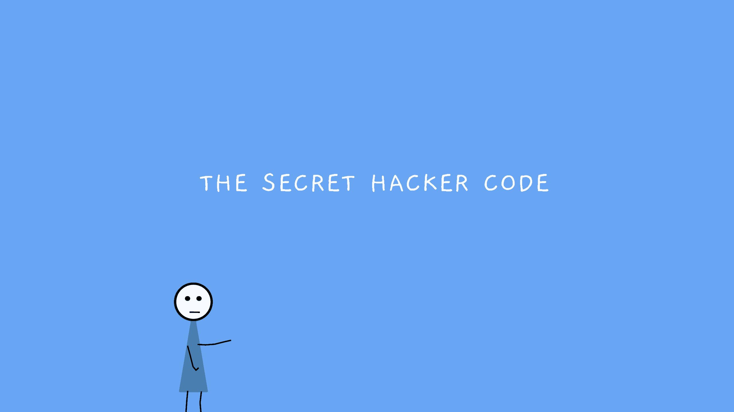 Secret Hacker Code
