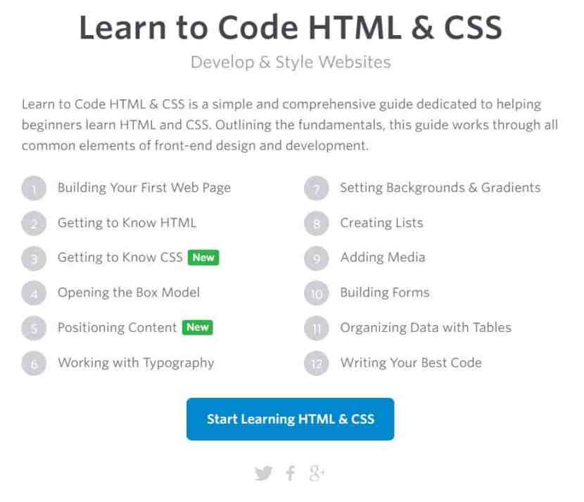 Learn HTML & CSS with Learn to Code with HTML & CSS