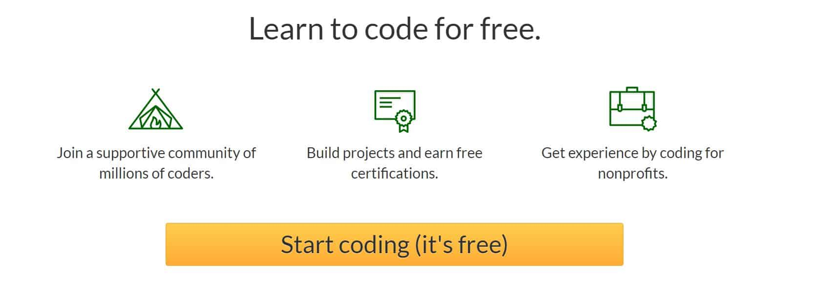 Learn to Code at free code camp