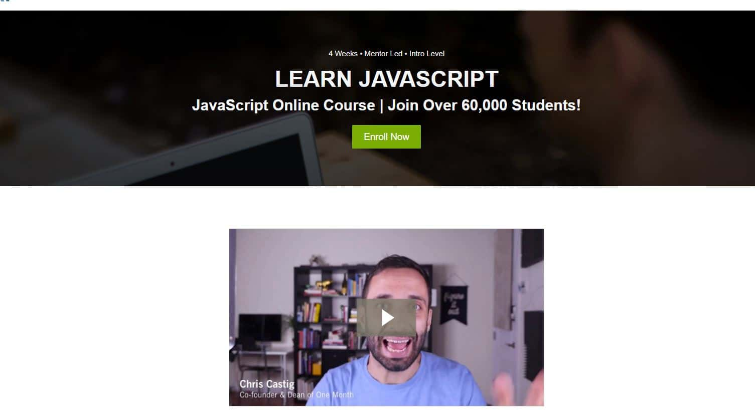 Learn JavaScript with One Month