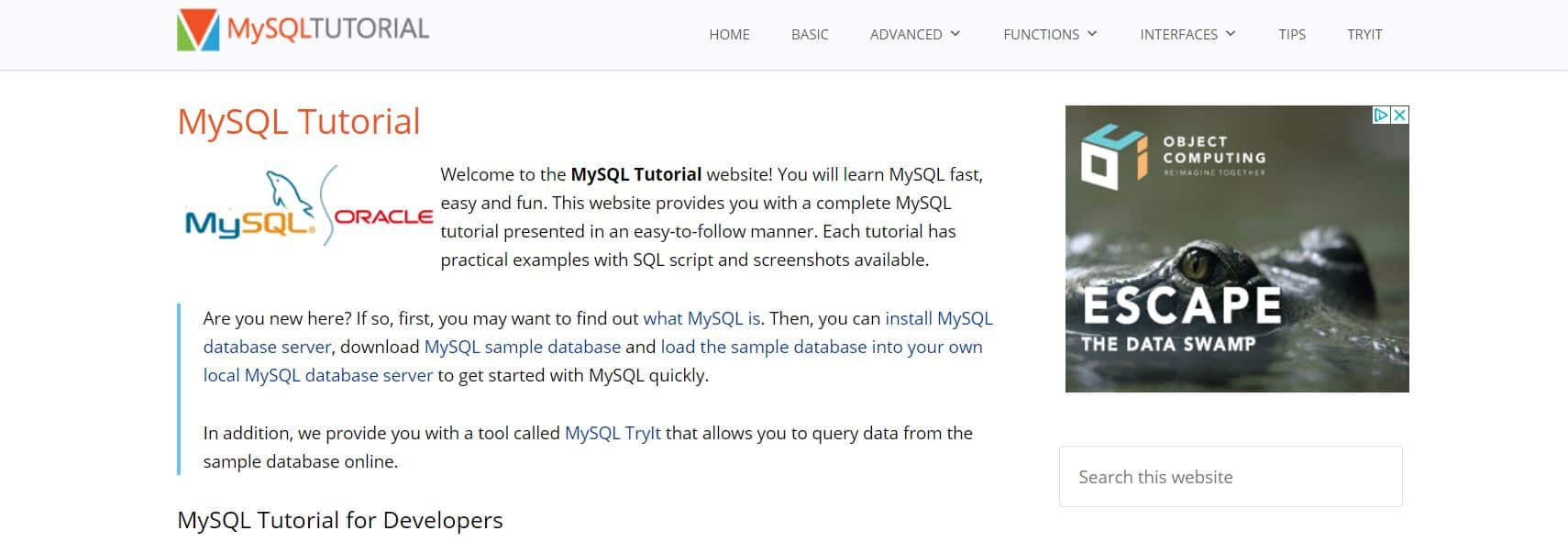 Learn SQL with MySQL Tutorial