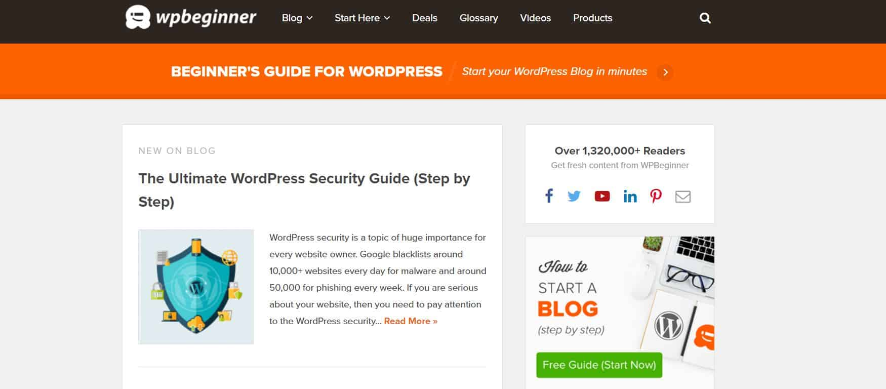 Learn WordPress with WPBeginner