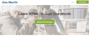 Udemy vs. One Month: What is the Difference?