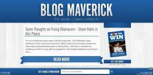 Maverick uses WordPress