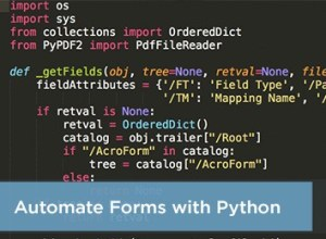automate forms with python