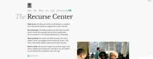 Coding Retreats del Recurse Center