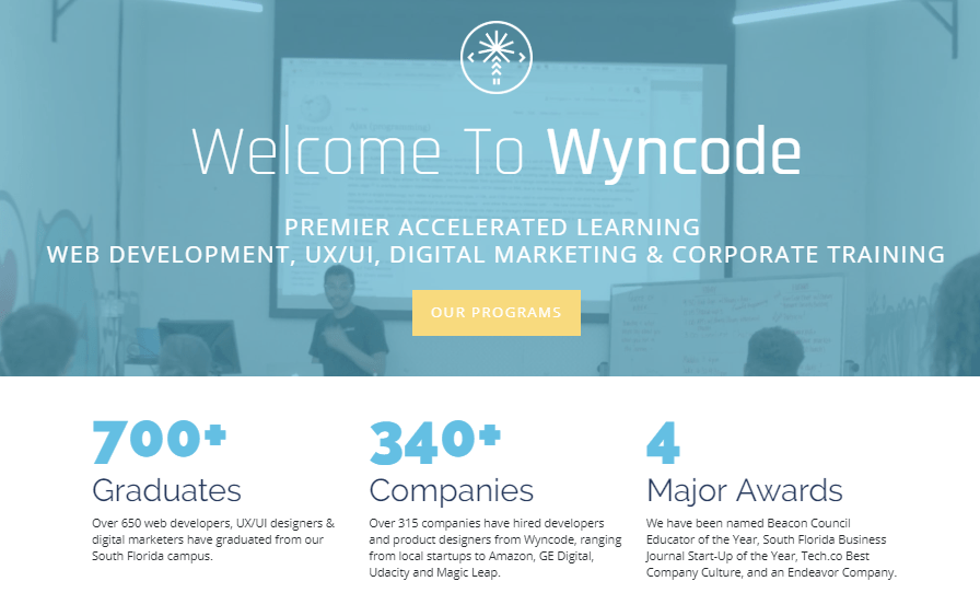 WynCode | Top 6 Coding Classes in Miami for 2019