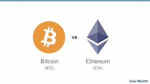 Bitcoin vs. Ethereum: Was ist der Unterschied?